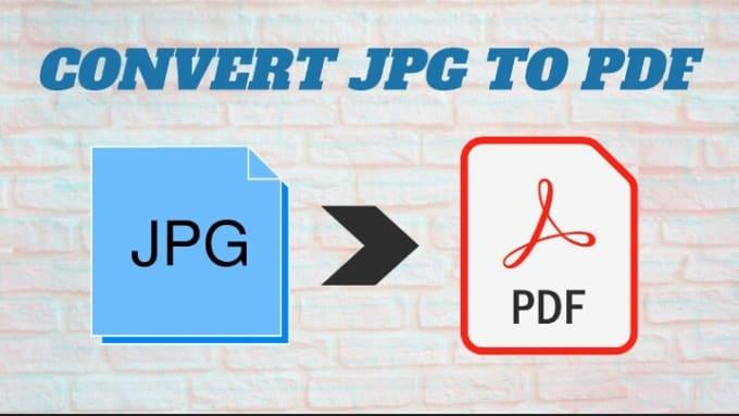 Convertiré imagen a pdf, jpg a pdf