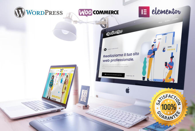 I will develop a professional and responsive websites