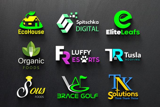 I will do unique, creative and modern business logo design
