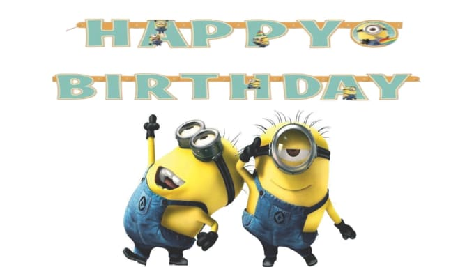 Create This Funny Despicable Me Happy Birthday Video With Your Messages By Tuber2013