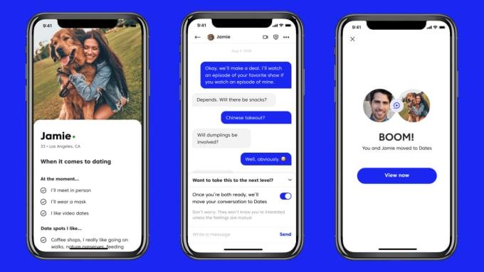 Built dating app, social media app, chat app, dating