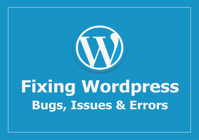 I will help you to fix wordpress or woocommerce bugs and issues