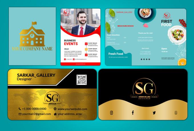 I will do luxury business card, letterhead, flyer design in 24 hour