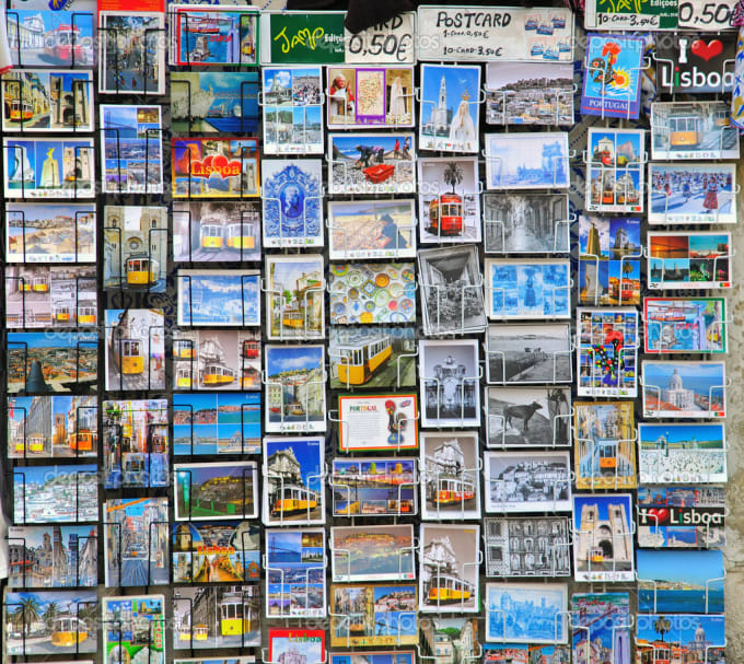 send you a postcard from Portugal