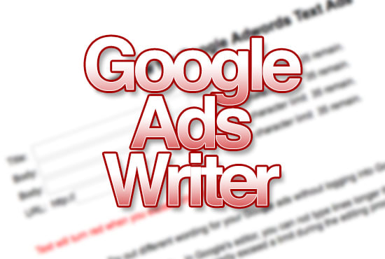 write 1 to 4 google ads in 5 days