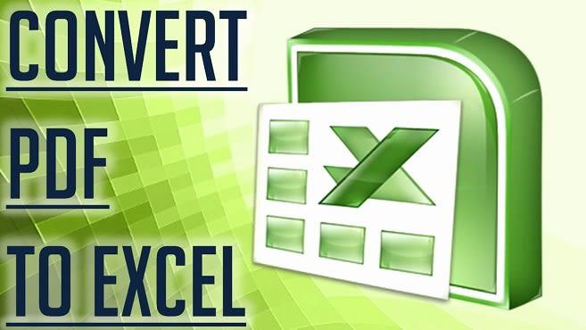 Voy a convertir PDF a Excel o escanear páginas a Excel o hoja de Google