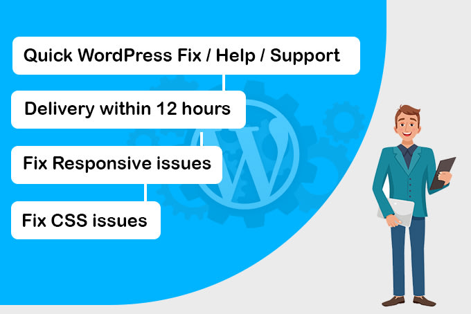I will fix any wordpress responsive and css issues