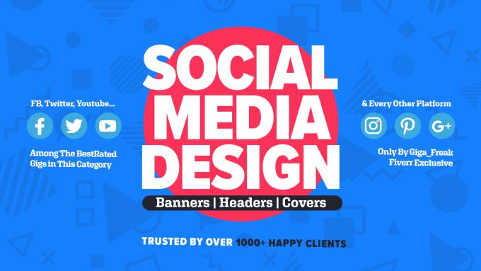 Design Social Media Banner By Gig Freak