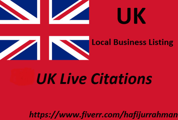 create UK live citations for local business listing