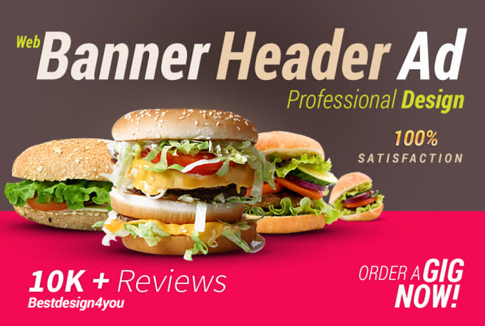 I will design a professional web banner,header,ads,cover