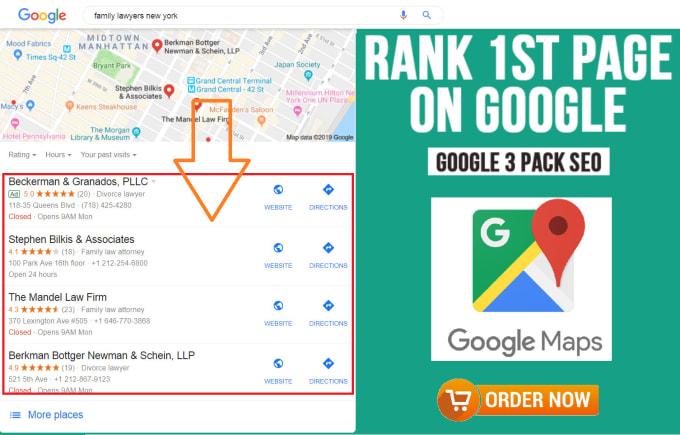 Image result for google maps seo