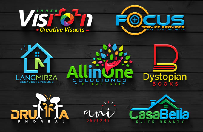 I will create a 3d professional business logo design