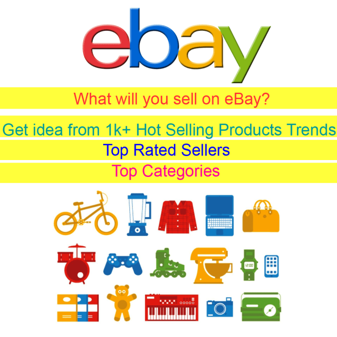 Send You A List Of 1000 Plus Hot Selling Ebay Us Products By Kowserahmed
