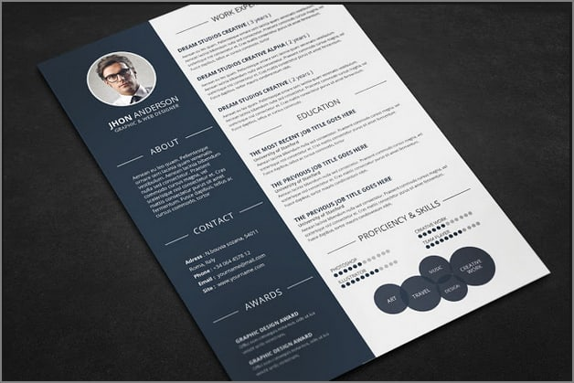 create a competitive sales and marketing resume by