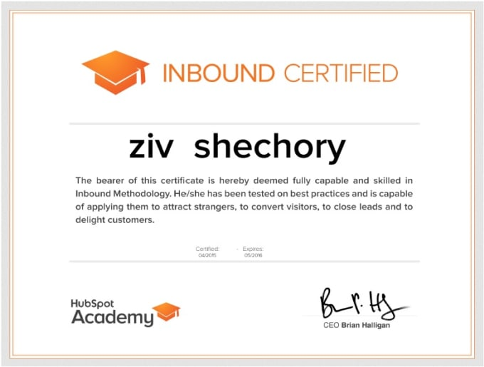 hubspot certification exam inbound answers give fiverr screen