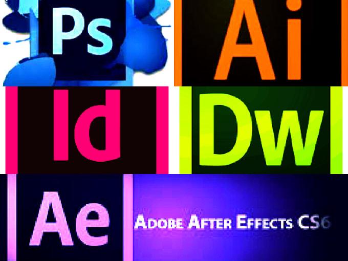 Give 4 Adobe Graphic Design Software By Isurubandara