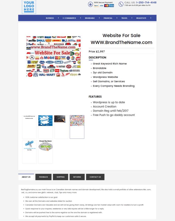 Create Amazing Ebay Responsive Js Free Listing Template By Noumanajmal