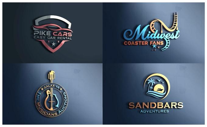 do a logo design like this design