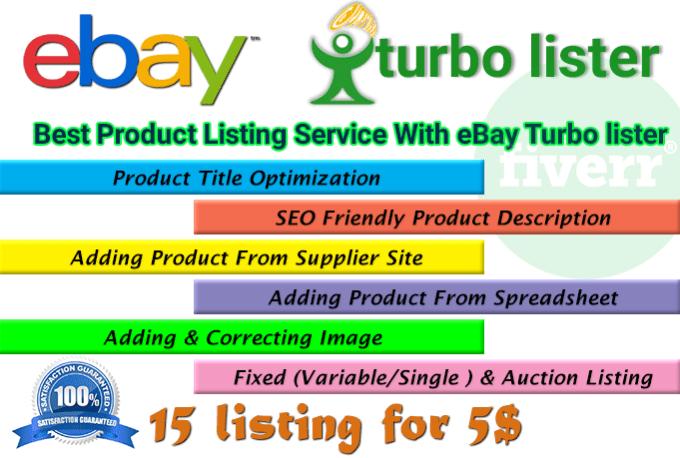List Products On Ebay By Irfan33