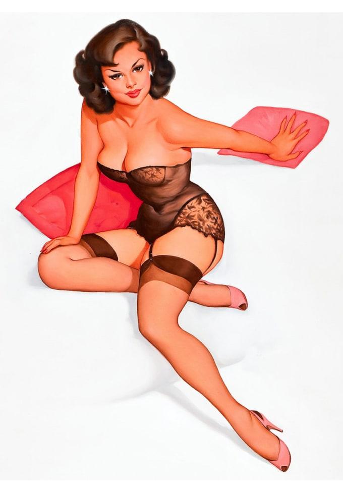 Big Tit Pinup Porn