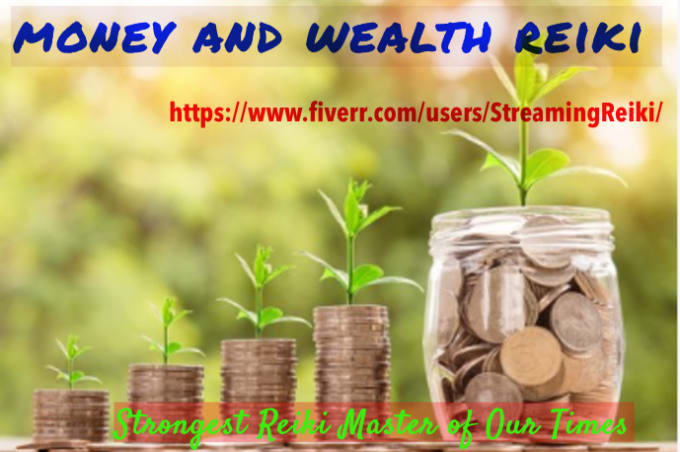 I will do money reiki healing sessions for one week