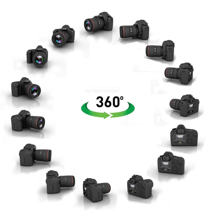 do a 360 degree video of your product