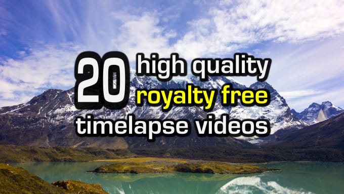 Give You 20 Stunning Timelapse Stock Videos Royalty Free By Jonathation Fiverr