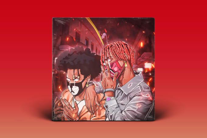 Best Rap Album Cover  on Fiverr