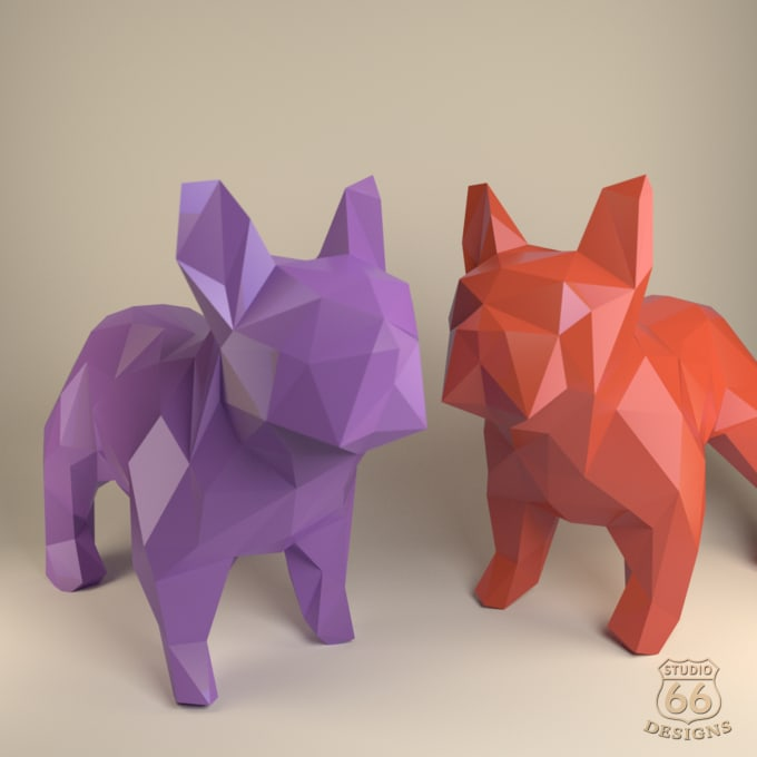 Step By Step Instructions How To Make Origami A Bulldog. Royalty ... | 680x680