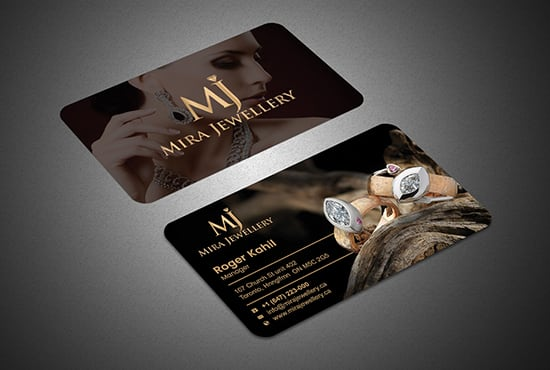 I will do professional luxury business card design in 12 hours
