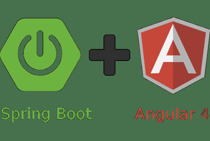 angular 4 spring boot web app by Sohibe2