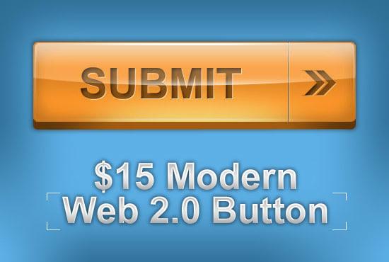 Make Cta Web App Button Design Modern 3d Or Flat By Neo010