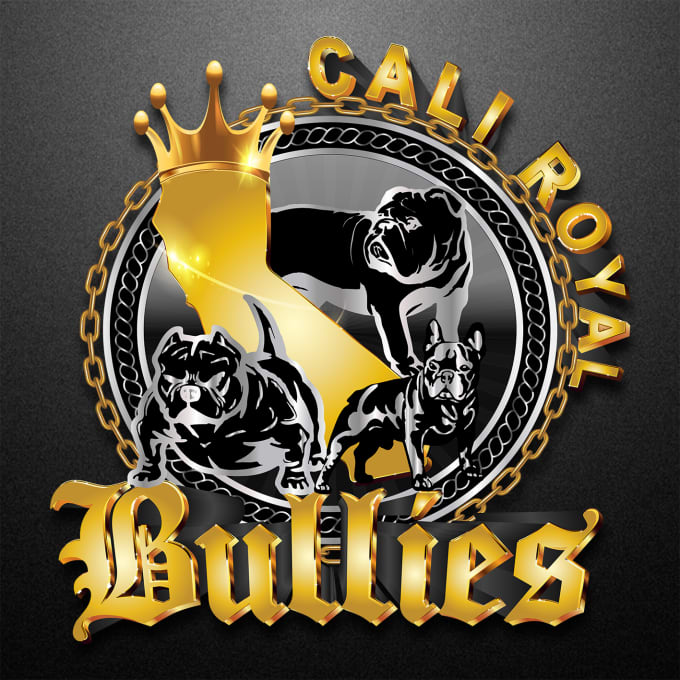 Design profesional logo dogs, bully by Alesiarussi | Fiverr