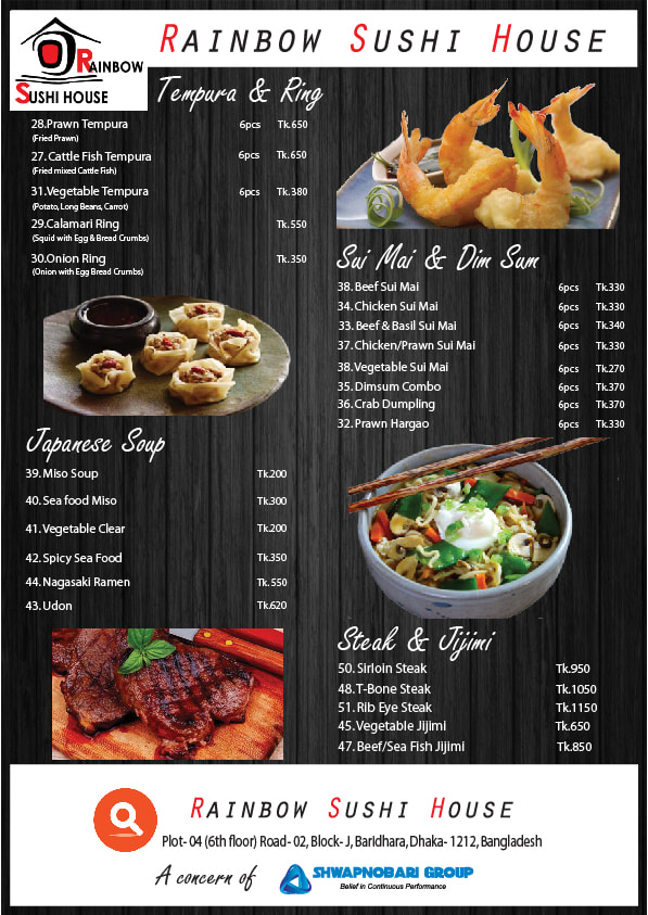 Design professional restaurant, takeaway or food menu by ...