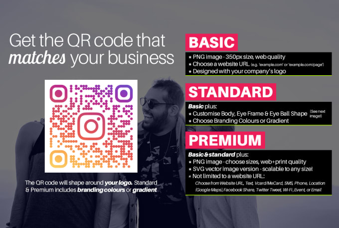 Design The Perfect Qr Code For Your Logo By Jameswhitworth