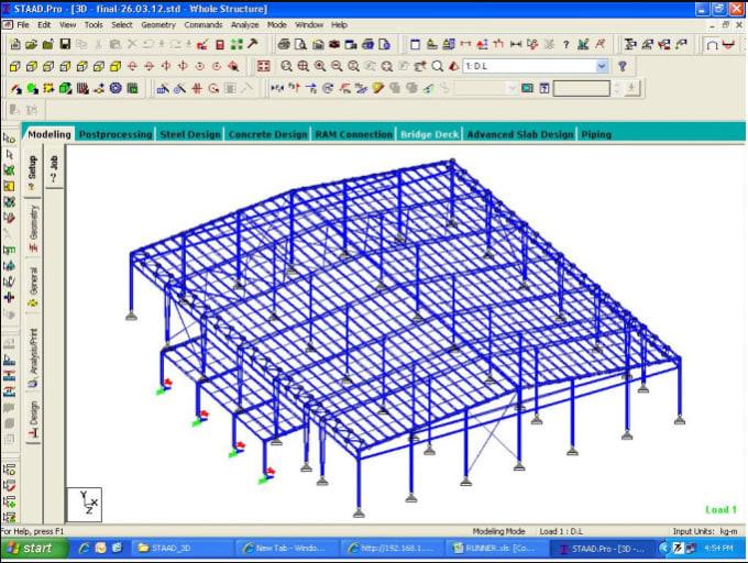 Design Steel Metal Building Based On American Design Codes By Akbarimran
