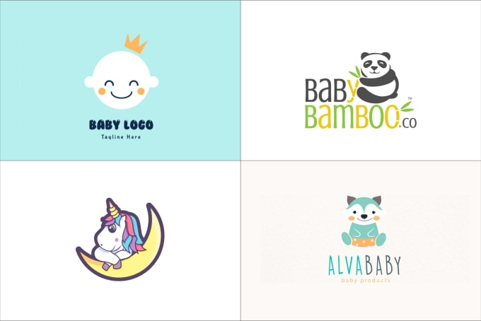 Design cute kids baby logo or baby products by Minimalist_box