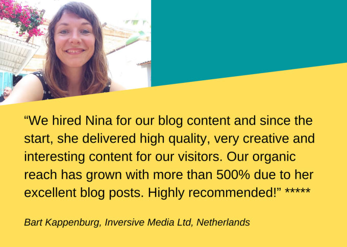write attention grabbing SEO content in english and dutch
