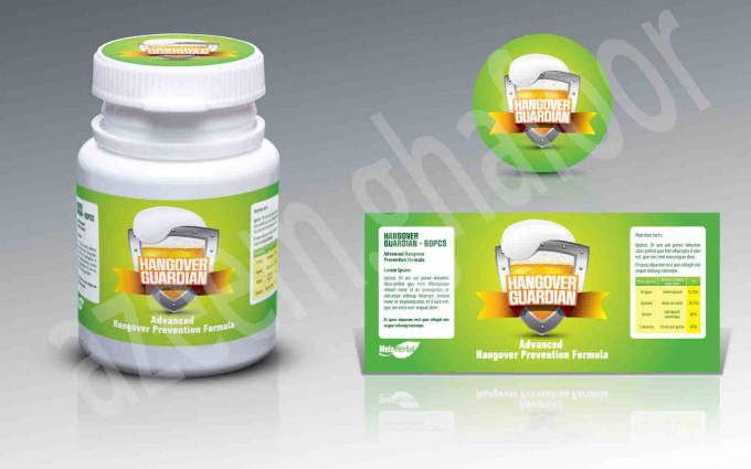 Create A Product Label Packaging Design And Free 3d Model By
