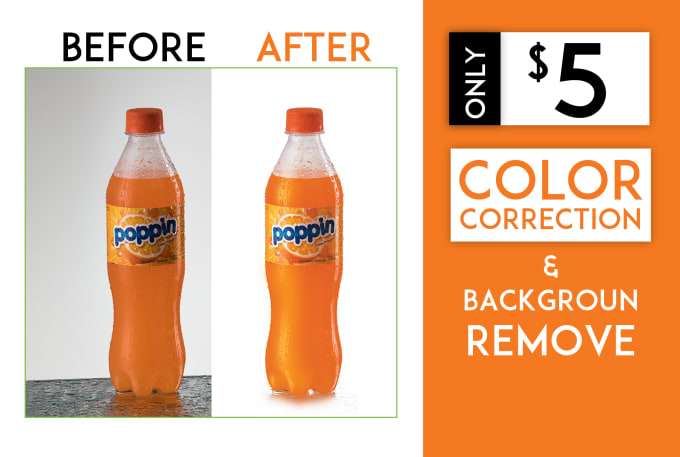 do any photo color correction, retouch any editing