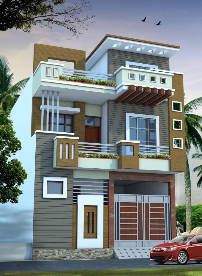 Create fantastic house plans, 3d elevation design ...