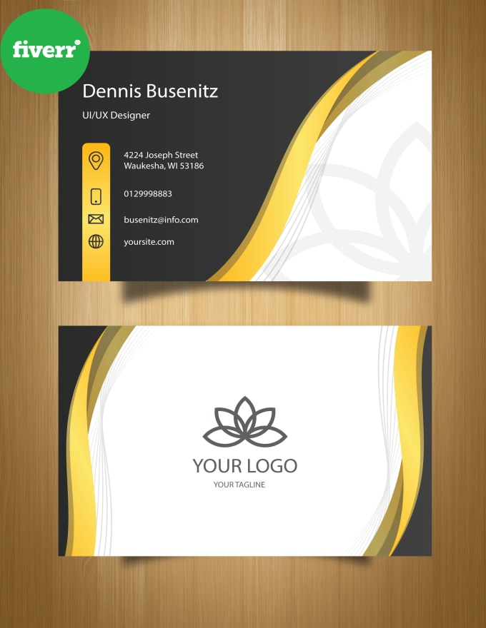 Design creative real estate business cards by Aliza3 ...