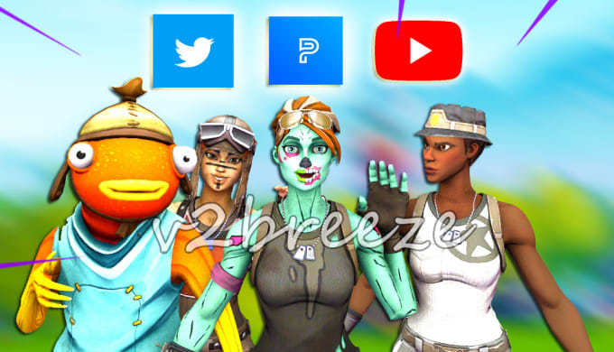 Fortnite Thumbnail Chronic Make You A 3d Fortnite Thumbnail By Breezelol Fiverr
