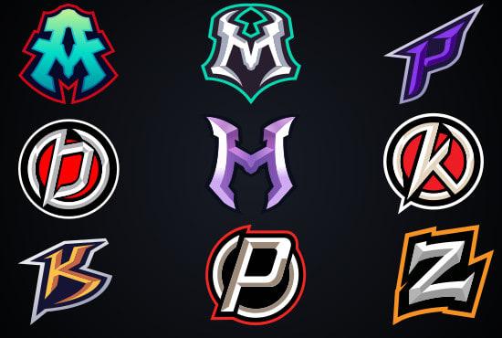Design gaming esports logo with name initials by Deku_man