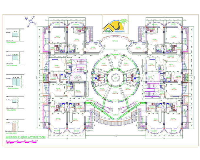 Design Multi Story Plans For Your Commercial Buildings By Asaas Design Fiverr
