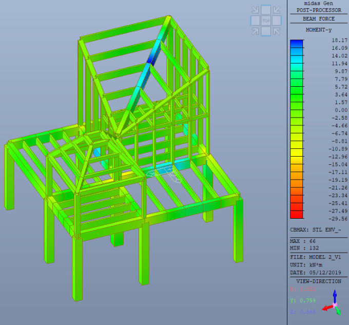 Do Structural Analysis And Design For Your Building By Drilon Shabani