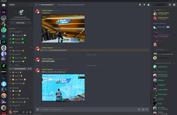 create  custom  professional discord server