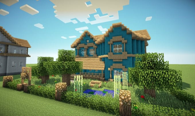 Build Your Minecraft House By Imjograndpa