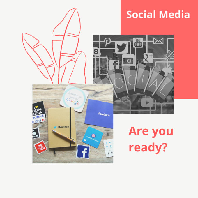 set up and manage your social media accounts