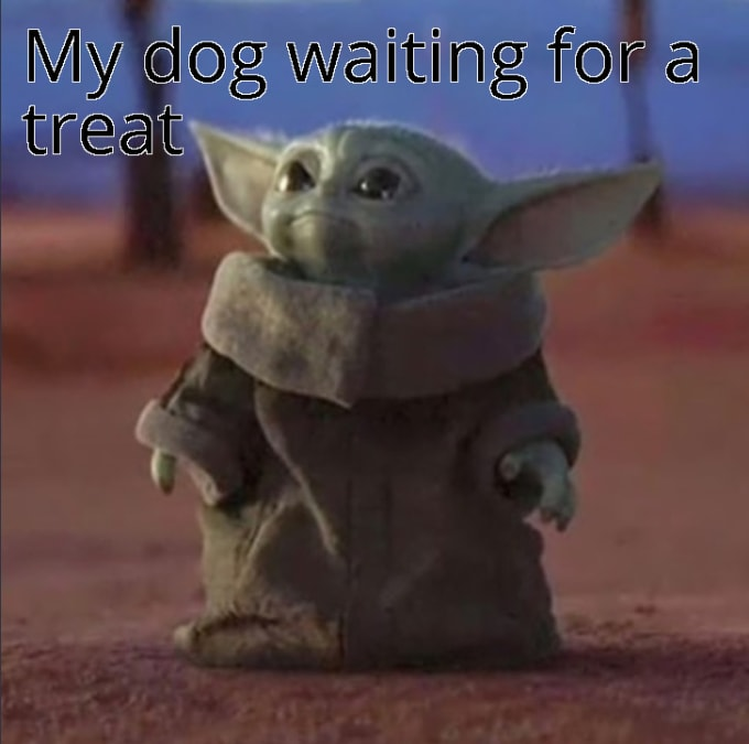 Create Your Very Own Baby Yoda Meme For You By Thomasdunne948 Fiverr